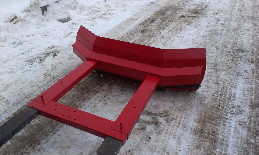 Ручной инструмент для уборки снега